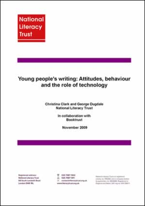 Young People's Writing Survey 2009