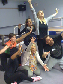 London Drama Students' Welcome 2013